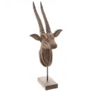 wholesale Other: head goat deco h56, brown