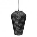 black h32 calio cone metal suspension, black