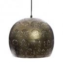 metal suspension ball gold d30 elgin, gold