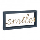 word deco led smile bl cozy l30, 2- times assorted