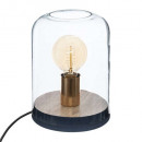 wood dome lamp h23 cosyness, 2- times assorted , c
