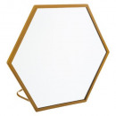 round mirror / hexagon cosyness, 4- times assorted
