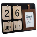 ac calendar french frame, assorted colors