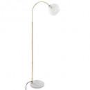 lampadr glas + marmor laye h150, gold