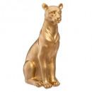 groothandel Speelgoed: panthere gouden hars h23cm, goud
