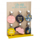 wholesale Keychains: Display times assorted cosyness, 12- times assorte