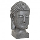 gray buddha head outdoor h51, gray