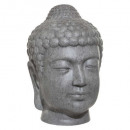 gray buddha head outdoor h66, gray