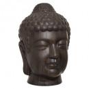 cabeza de Buda marrón al aire libre h66, marrón