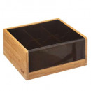 wholesale Kitchen Utensils: box the x6comp blackbamboo, black