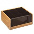caja del x6comp blackbamboo, negro