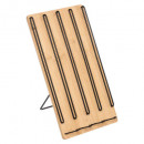 expressox40 bamboo cap holder, colorless