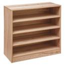zapatero de madera 12p nat