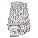 caja de monedas de metal x6 francés