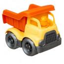 camión de la basura Vintage , amarillo