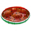 wholesale Pool & Beach: inflatable watermelon bar, multicolored