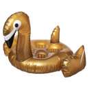 inflatable bar swan gold, multicolored