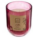 vela perfumada lana rosa 135g, rosa oscuro
