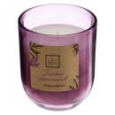 vela perfumada provenza lana 135g, violeta claro