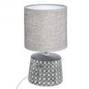 lámpara de cerámica cannage h23cm, 2- veces surtid