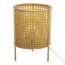cane lamp h28 poetry, beige