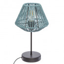 blue rope lamp h34 jily, blue