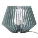 lámpara de mesa verde h21cm, verde