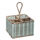 cutlery basket, 2- times assorted , colors as