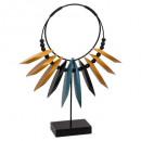 jungle pop h35 necklace, multicolour