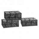 Pop cajón cajón x3, negro