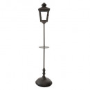 ext floor lamp, black