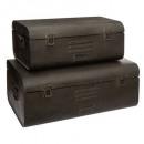 set x2 baúles exteriores max l47x28, negro