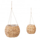 set x2 hanging lamp hya max d26, beige