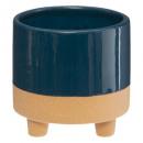 hurtownia Ogrod & Majsterkowanie: Stopka ceramiczna H10 D10, 3- razy mieszany , kolo