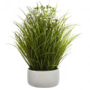 wild herb pot d18.5 h40, white
