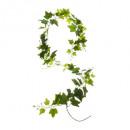 girlande borostyán 190cm, zöld