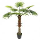 palm tree 1 trunk h120cm, green