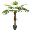 palmier 1 tronc h120cm, vert