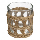 candle holder h8 paper jungle, 2- times assorted ,
