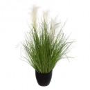 bos gras pot plast h70, groen