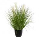 manojo hierba maceta plast h90, verde
