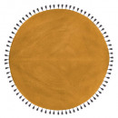 cot pop ocher carpet d120, ocher