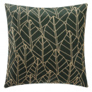 Pillow embroidery lur ced 40x40, cedar green