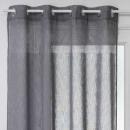 cortina transparente sab gris 140x240, gris