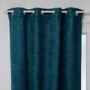 waffle blackout curtain bl 140x260, duck blue