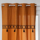 printed curtain pop oc 140x260, ocher