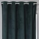 cortina opaca terciopelo otto ced140x260, verde