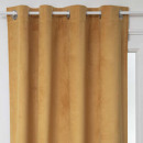 cortina opaca terciopelo otto oc 140x260, ocre