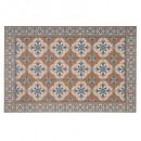 mesa de mosaico de vinilo oc 45x30, ocre