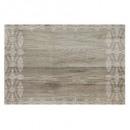 Juego de mesa de vinilo de madera impresa 45x30, b